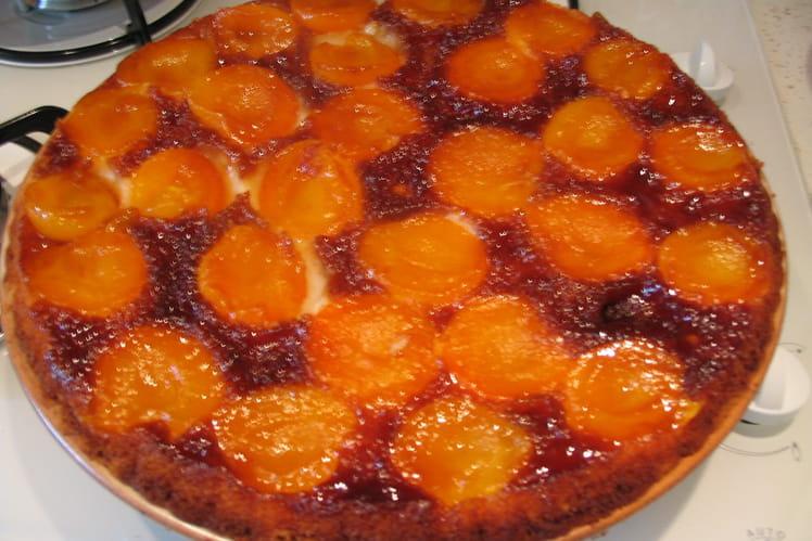 Gâteau à l'abricot
