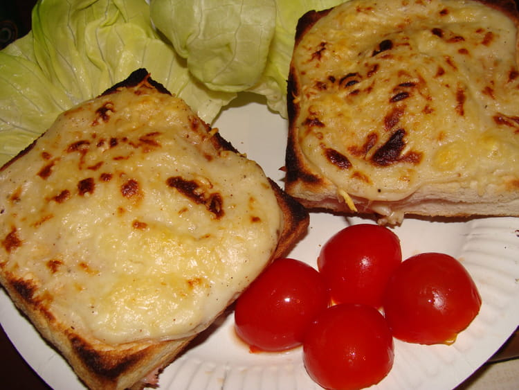 recette de croque monsieur la sauce b chamel la. Black Bedroom Furniture Sets. Home Design Ideas