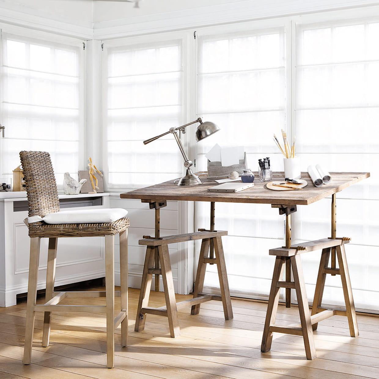 bureau key west chez maisons du monde. Black Bedroom Furniture Sets. Home Design Ideas