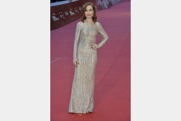 Isabelle Huppert au festival du film de Rome