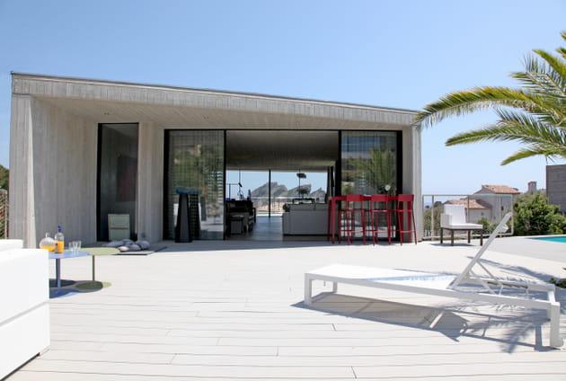 Terrasse d'architecte