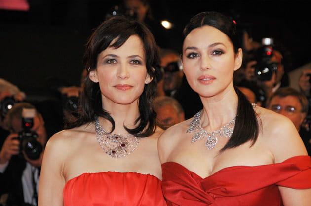 Sophie Marceau et Monica Belluci, fatales