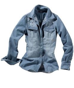 la chemise en jean d'active wear