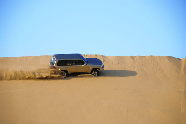 Explorez l'immensité du désert