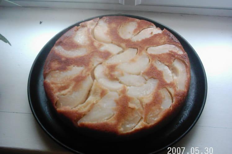 Gâteau aux poires simple et rapide