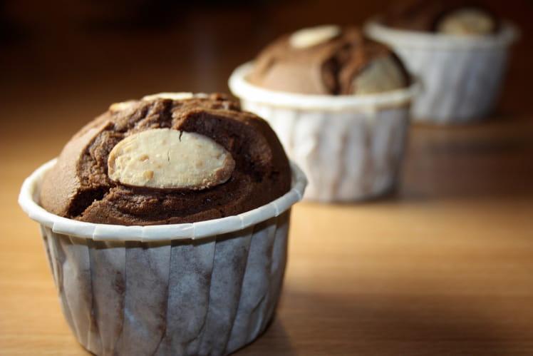 Muffins chocolat aux oeufs Kinder