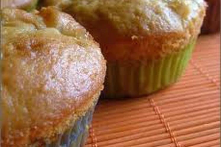 Muffins aux pommes arôme vanille