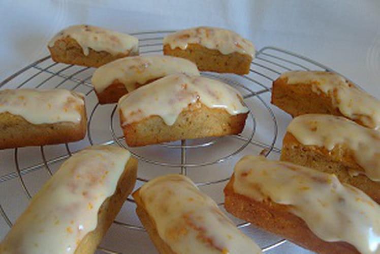 Minis carrot cakes à l'orange