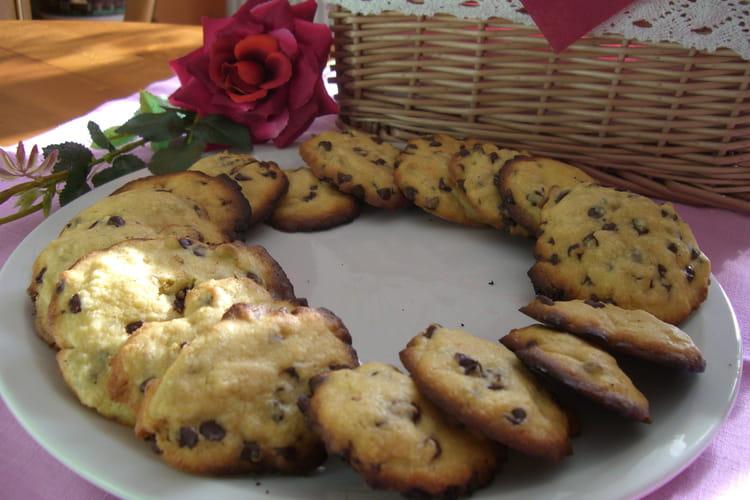 Cookies noix de coco et pépites de chocolat