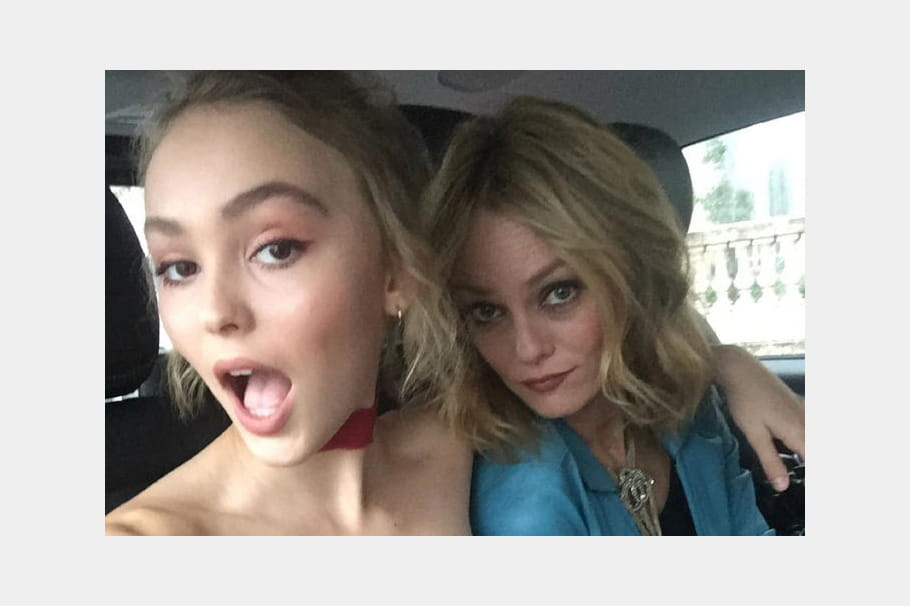 Vanessa Paradis et sa fille Lily-Rose