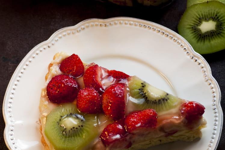 Tarte briochée fruity !