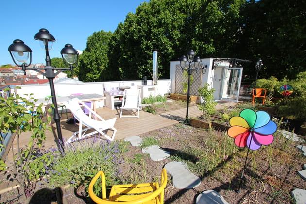 La nouvelle terrasse : un jardin suspendu