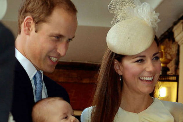 Kate et William font baptiser le Prince George