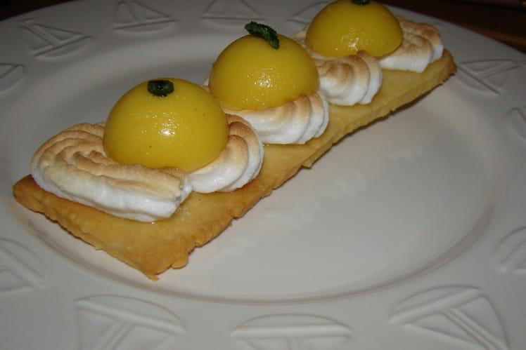 Tartelettes au citron façon Mojito