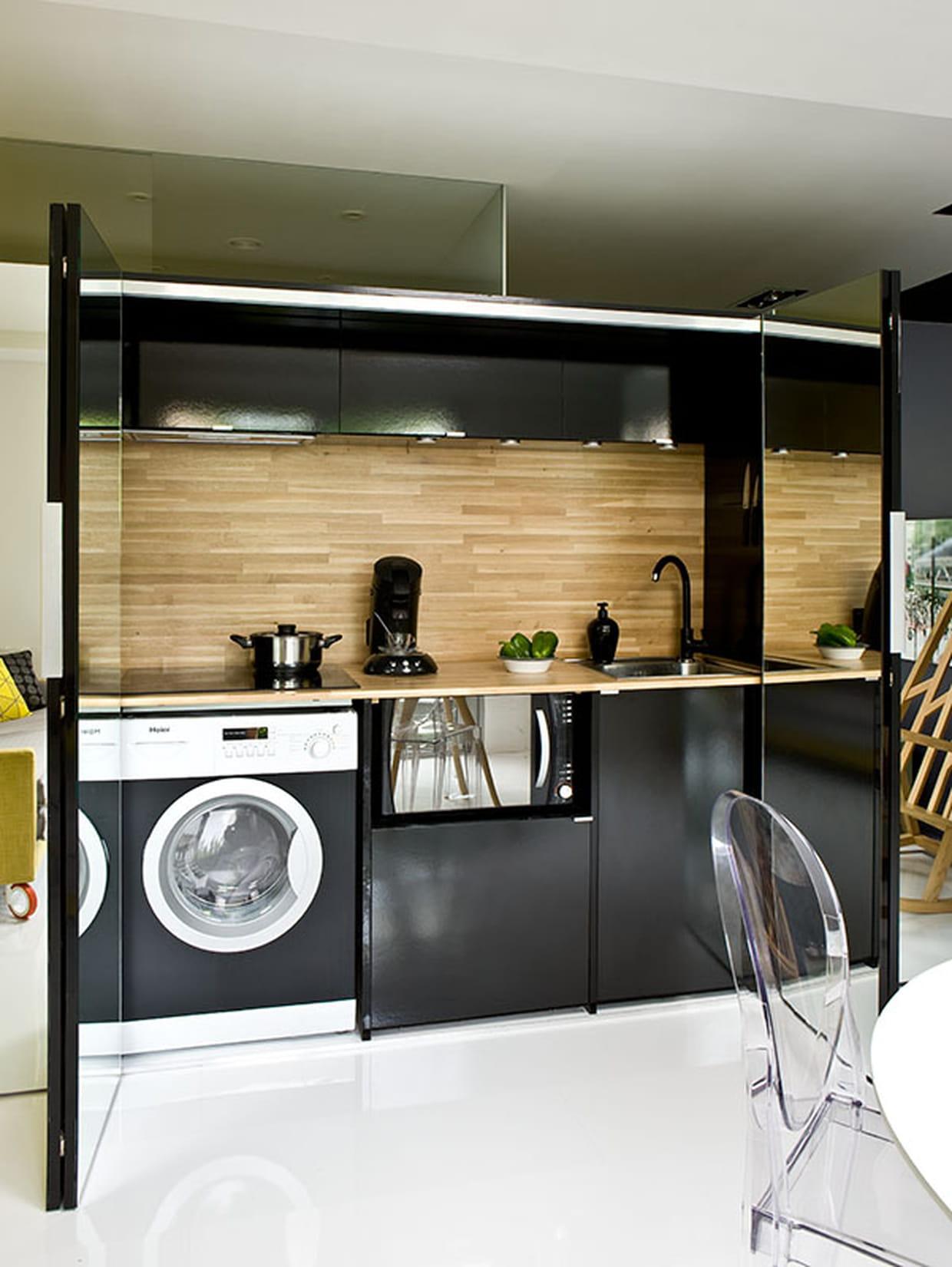 Une cuisine invisible - Cuisine invisible ...