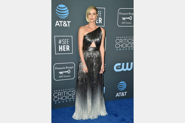 Charlize Theron en Givenchy