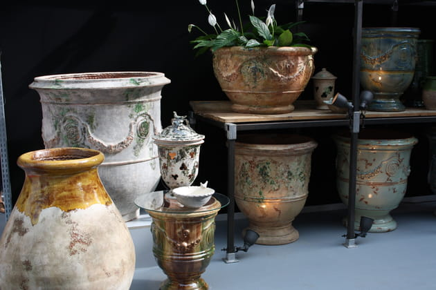 Les vases d'Anduze par Le Chêne Vert