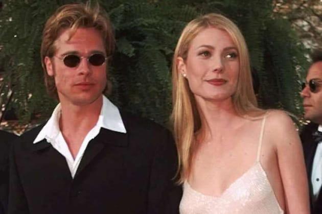 Brad Pitt et Gwyneth Paltrow