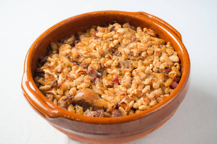 Cassoulet du chef Marc Galinier