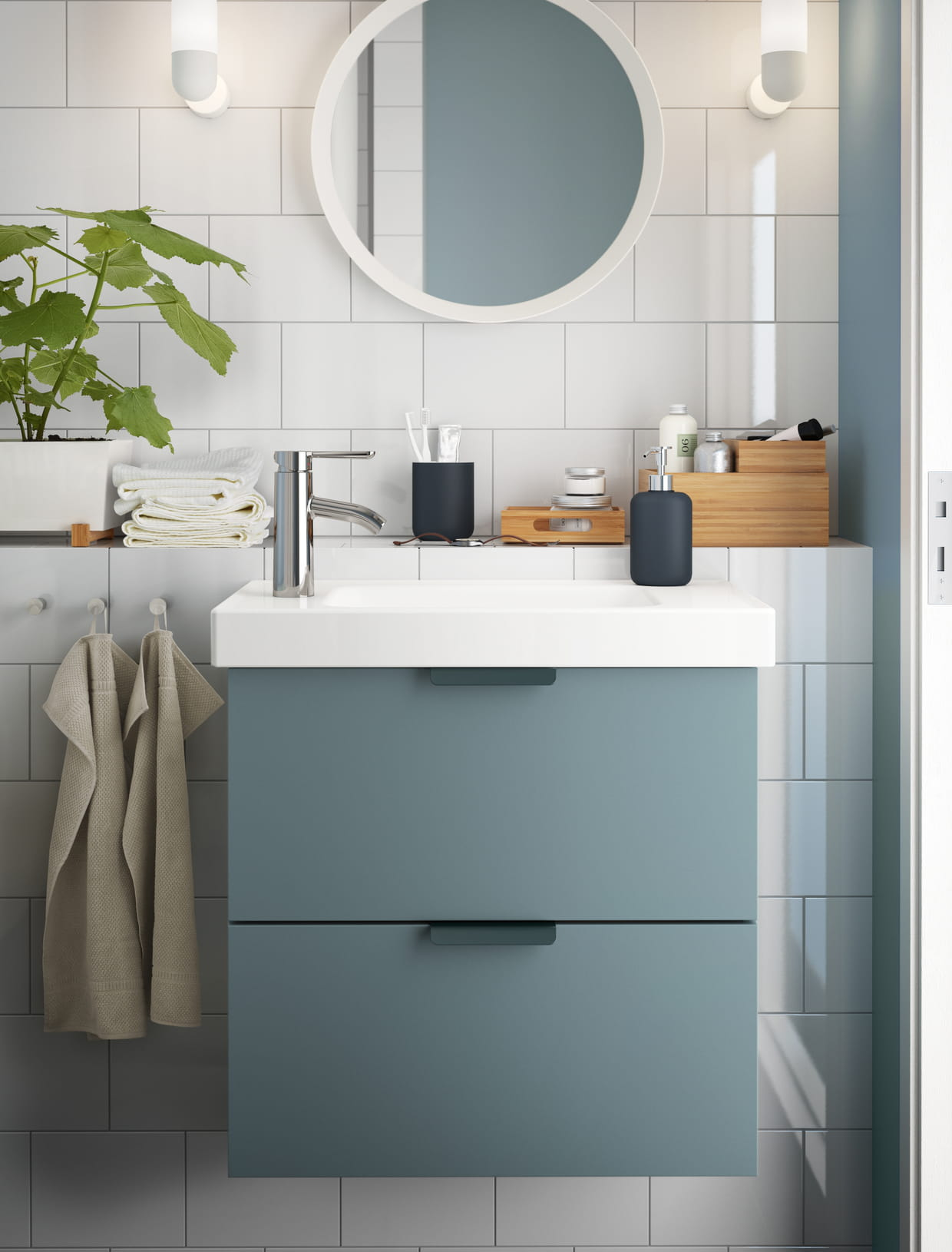 meuble lavabo godmorgon odensvik par magnus eleb ck pour ikea. Black Bedroom Furniture Sets. Home Design Ideas