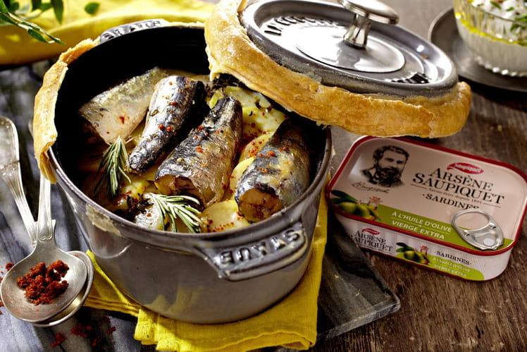 Marmite de sardines boulangères d'Arsène Saupiquet