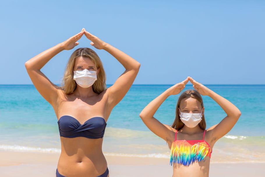 Masque obligatoire: dehors, rue, sur quelles plages?