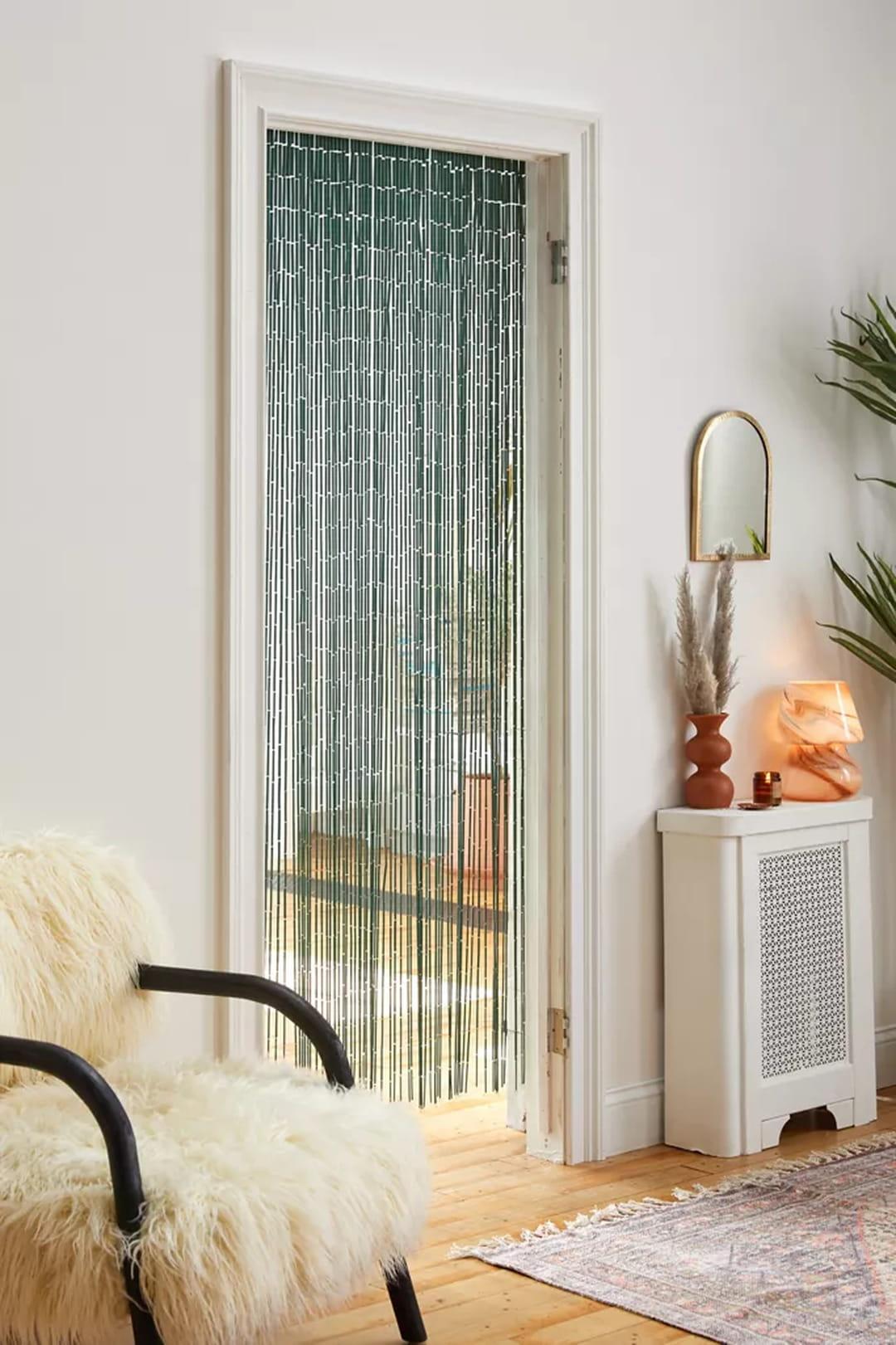 rideau-de-porte-bambou