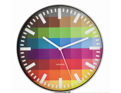 l'horloge 'pixel' de karlsson chez fly