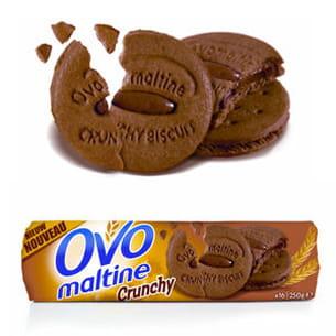 crunchy biscuit d'ovomaltine