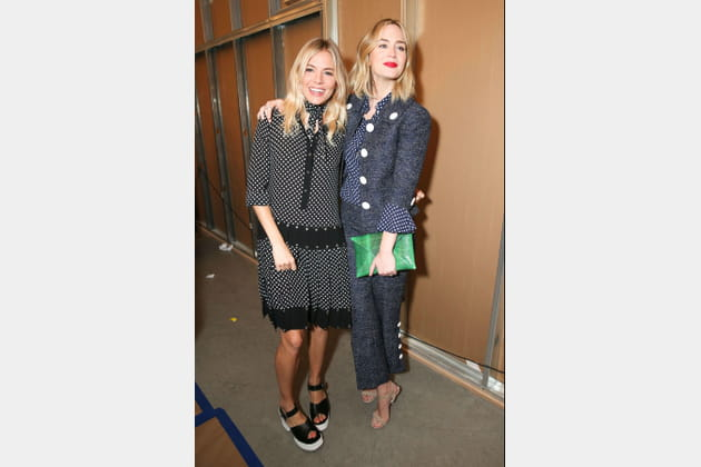 Sienna Miller et Emily Blunt