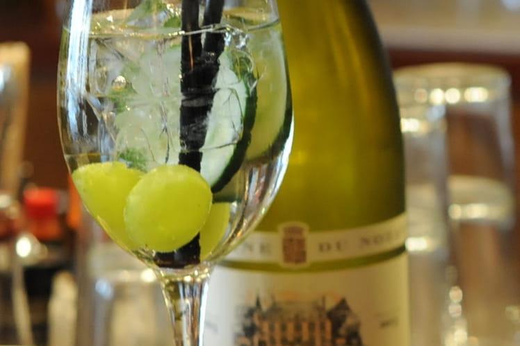 Cocktail au vin blanc Soupir d'été