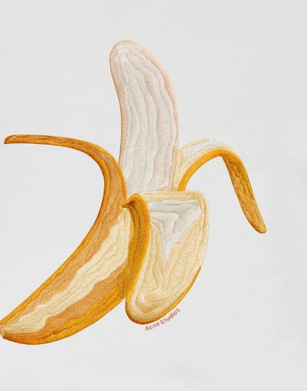 La mode a la banane sur Instagram
