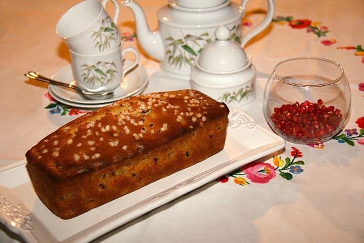 Cake aux graines de Grenade