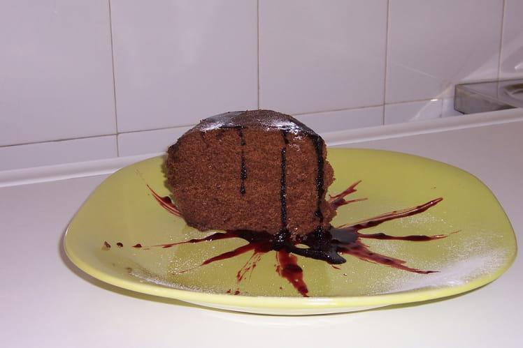 Gâteau au chocolat au micro-ondes inratable