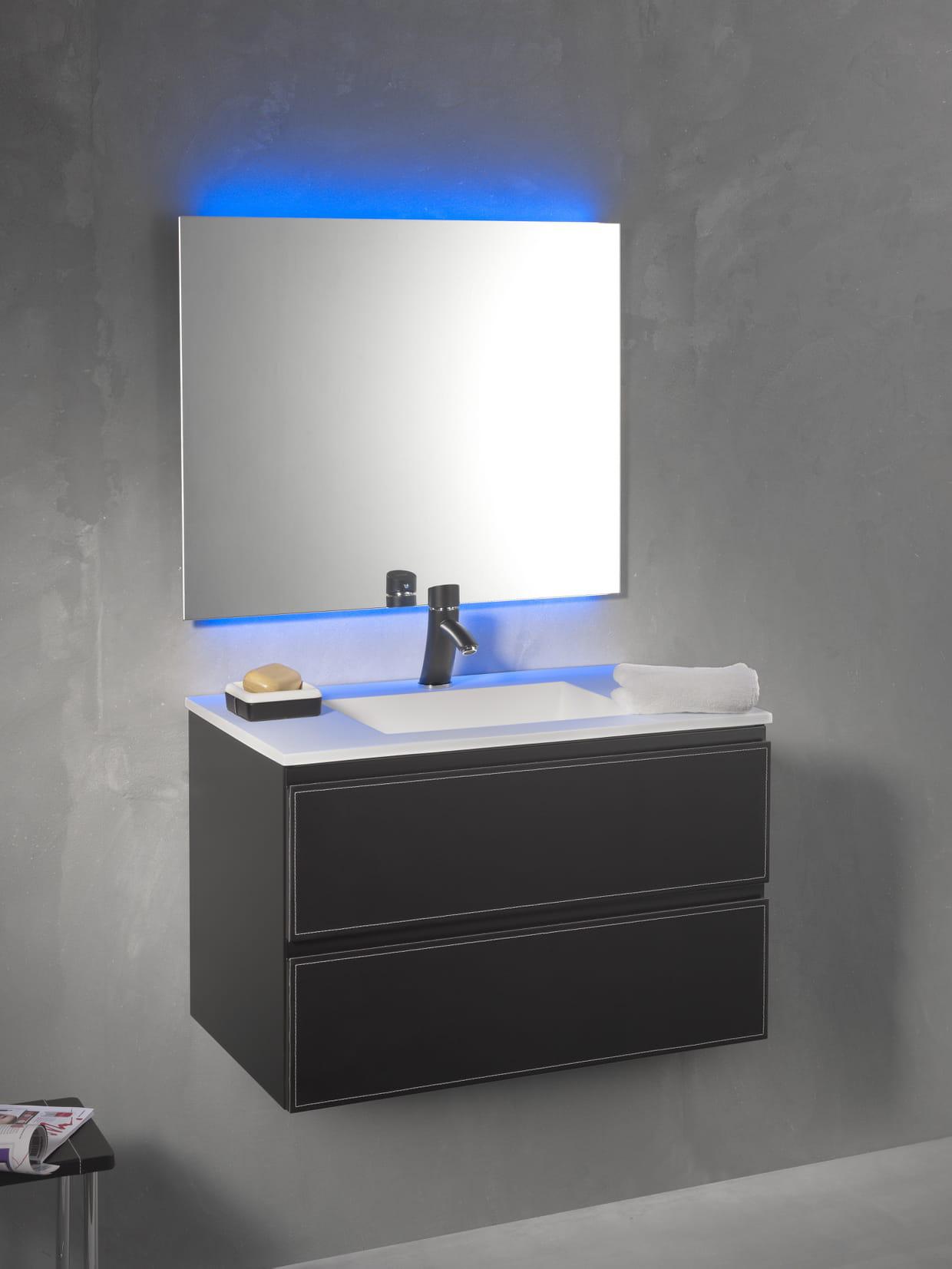 Meuble loft bath par kramer design for Meuble ytrac