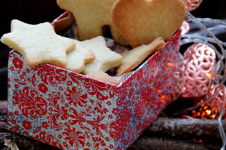 Petits sablés de Noël gourmands
