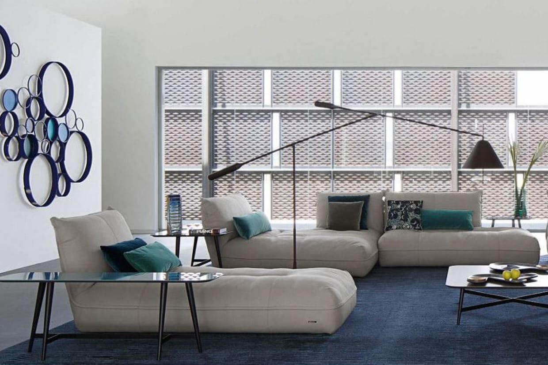composition d 39 angle octet par roche bobois. Black Bedroom Furniture Sets. Home Design Ideas