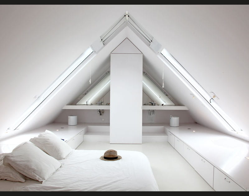 Chambre immaculée