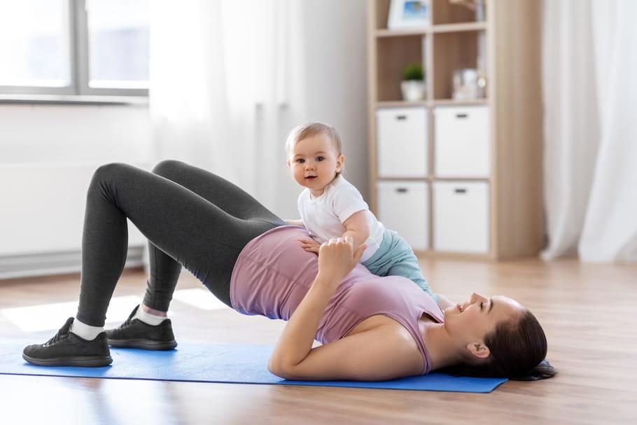 Quels sports pratiquer après l'accouchement?