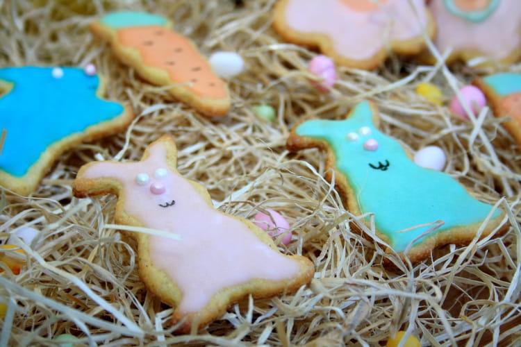 Sablés de Pâques lapin