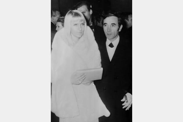 Charles Aznavour et Ulla Thorsell