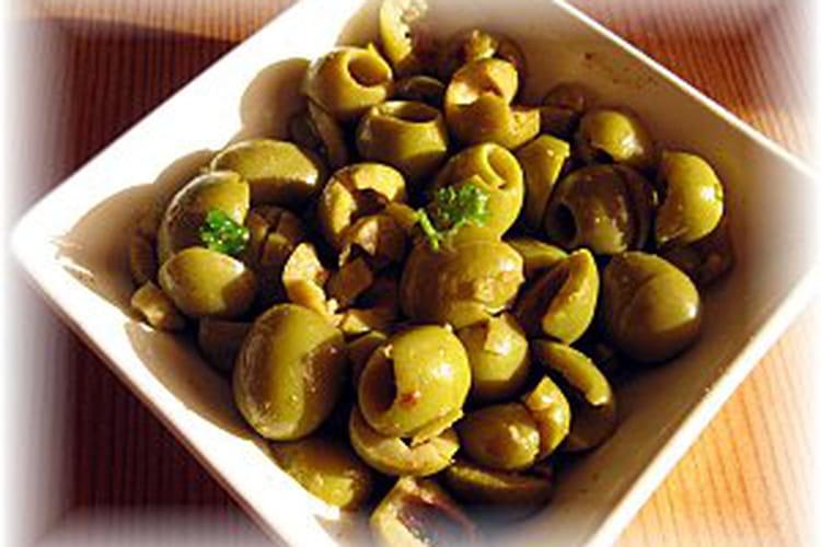Salade d'olives