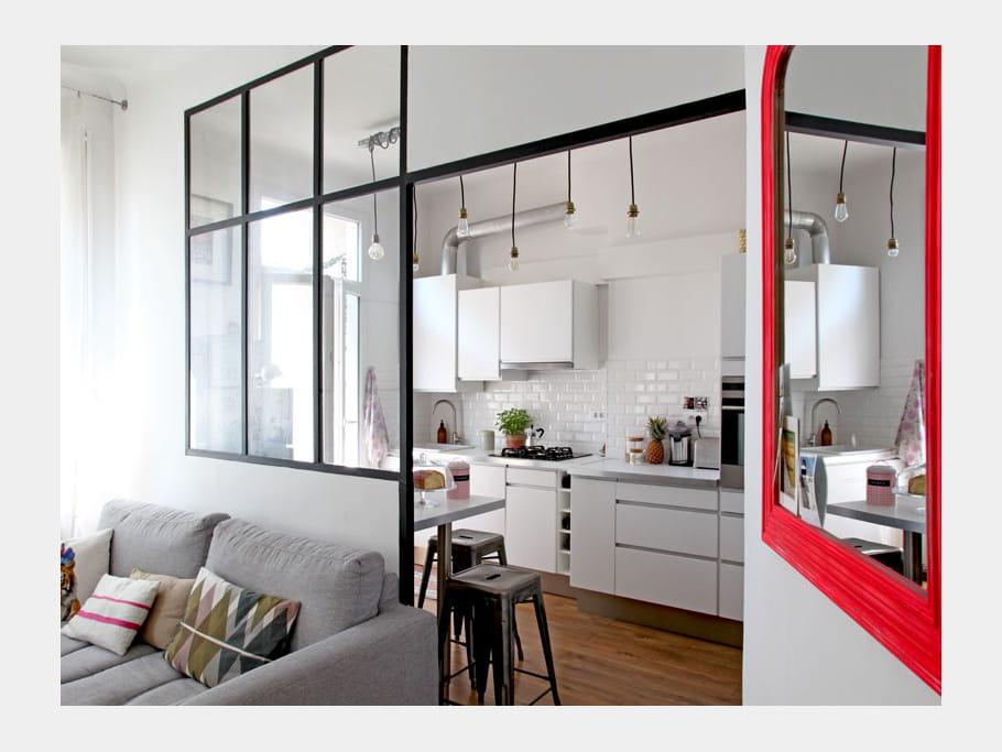 miroir fluo et verri re lumineuse un appart 39 pour faire. Black Bedroom Furniture Sets. Home Design Ideas