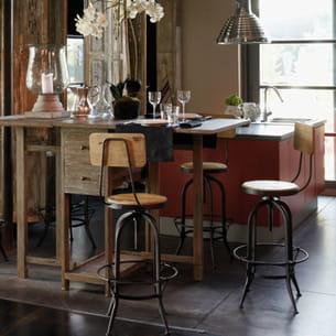 chaise de bar industry de du bout du monde