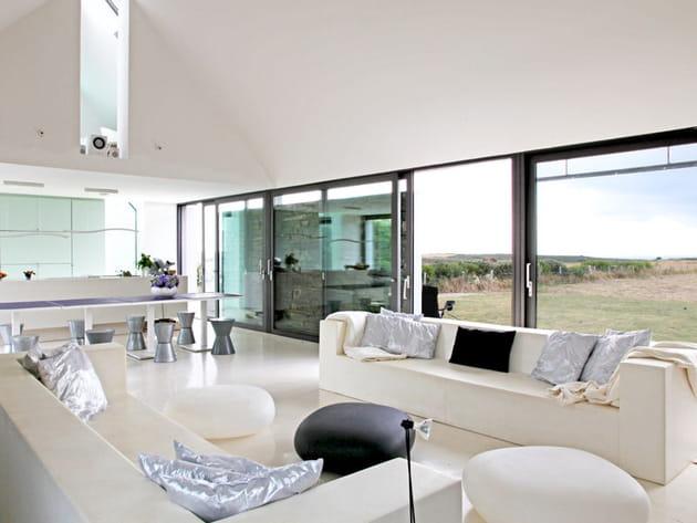 Un salon très design
