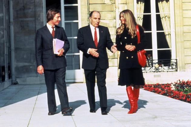 Avec Brigitte Bardot, à l'Elysée