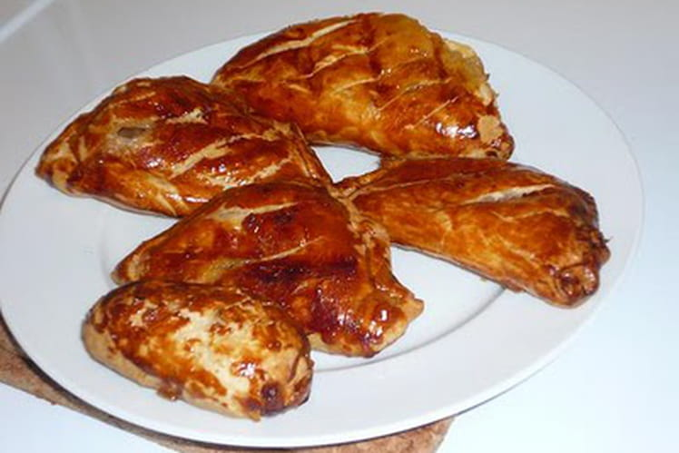 Chaussons au bacon