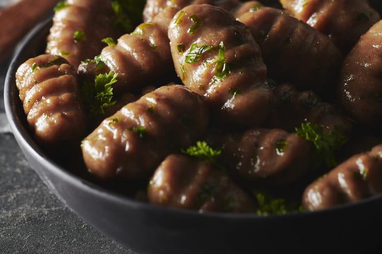 Gnocchis à la purée de marrons