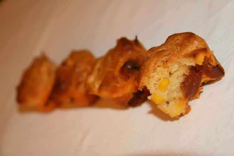 Muffins salés inspiration mexicaine
