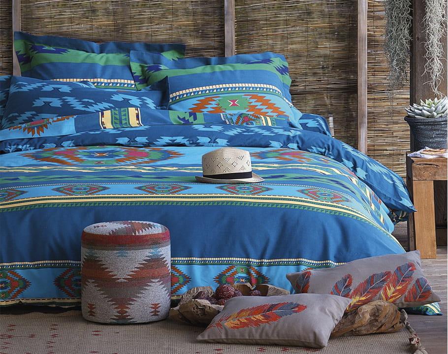 linge de lit amerindien becquet. Black Bedroom Furniture Sets. Home Design Ideas